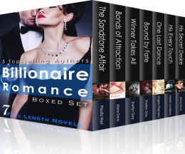 Billionaire Romance Boxed Set: 7 Steamy Full-Length Novels (1000 pages)