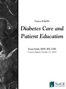 Diabetes Care and Patient Education