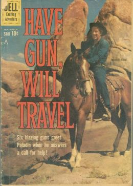 Have Gun Will Travel Number 8 Western Comic Book