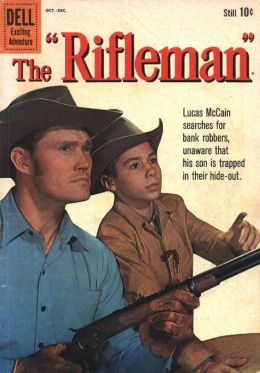 The Rifleman Number 5 Western Comic Book