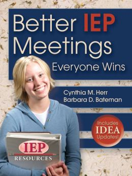 Better IEP Meetings: Everyone Wins