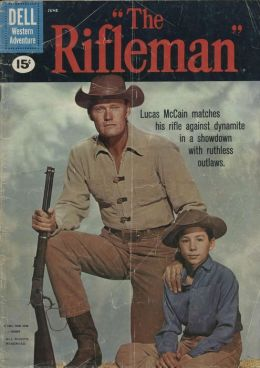 The Rifleman Number 7 Western Comic Book