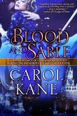 Book Cover Image. Title: Blood and Sable, Author: Carol Kane