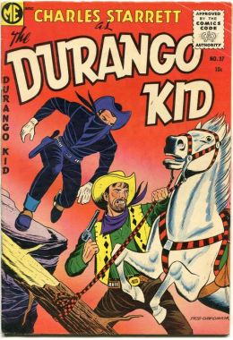 DURANGO KID Number 37 Western Comic Book