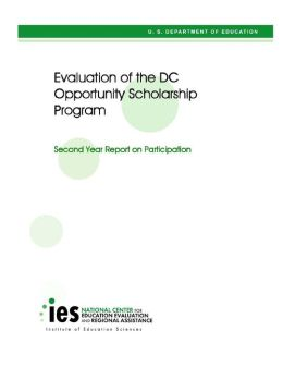 Evaluation of the DC Opportunity Scholarship Program