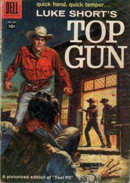 Luke Shorts Top Gun Western Comic Book