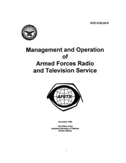 Management and Operation of Armed Forces Radio and Television Service