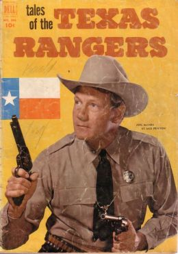 Tales of the Texas Rangers Western Comic Book