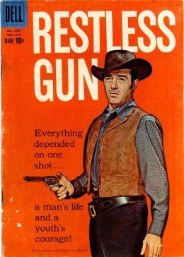 Restless Gun Number 1045 Western Comic Book