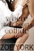 Book Cover Image. Title: Where Their Hearts Collide (Wardham, #2), Author: Zoe York