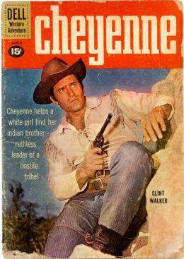 Cheyenne Number 20 Western Comic Book