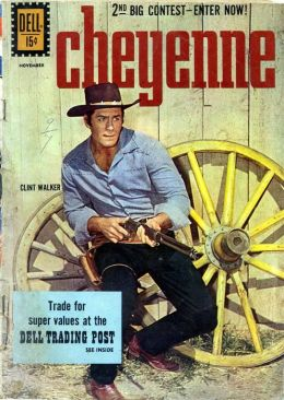 Cheyenne Number 24 Western Comic Book