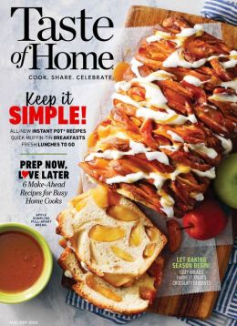 Taste of Home - annual subscription