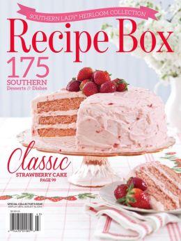 Southern Lady Recipe Box 2014