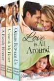 Book Cover Image. Title: Love Is All Around (Boxed Set of 3 Contemporary Romances), Author: Helen Scott Taylor