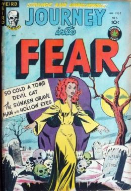 Journey Into Fear Number 5 Horror Comic Book