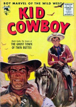 Kid Cowboy Number 14 Western Comic Book