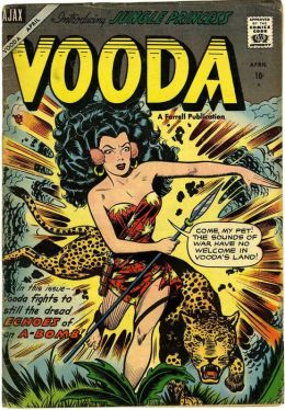 Vooda Number 20 Action Comic Book