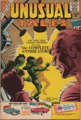 Unusual Tales Number 24 Horror Comic Book
