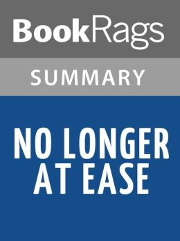 No Longer at Ease by Chinua Achebe Summary & Study Guide