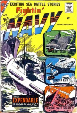Fightin Navy Number 79 War Comic Book