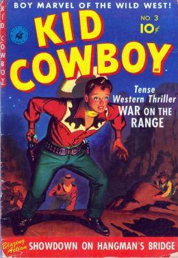 Kid Cowboy Number 3 Western Comic Book