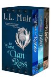Book Cover Image. Title: The Curse of Clan Ross (A Highlander Time Travel Series), Author: L.L. Muir