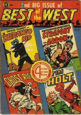 Best of the West Number 2 Western Comic Book