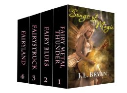 Songs of Magic Books 1-4 (Four Fairy Novels)