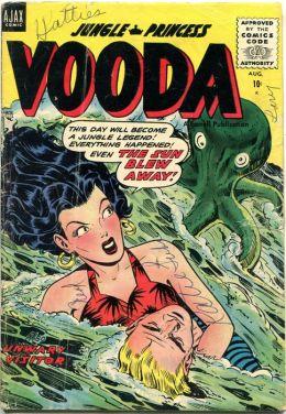 Vooda Number 22 Action Comic Book