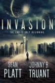 Book Cover Image. Title: Invasion, Author: Sean Platt