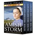 Book Cover Image. Title: A Lancaster Amish Storm - 3-Book Boxed Set Bundle, Author: Ruth Price