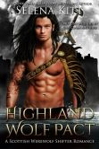 Book Cover Image. Title: Highland Wolf Pact (Scottish Shifter), Author: Selena Kitt