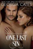 Book Cover Image. Title: One Last Sin, Author: Georgia Cates