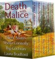 Book Cover Image. Title: Death with Malice:  5 Killer Mysteries by Todays Bestselling Authors, Author: Ellery Adams