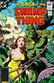 Book Cover Image. Title: The Saga of the Swamp Thing (1982-) #8, Author: Martin Pasko