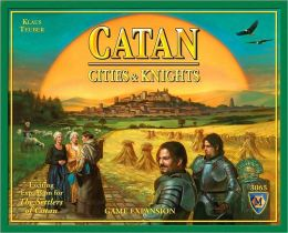 Settlers of Catan Cities & Knights Game