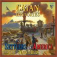 Product Image. Title: Catan Histories: Settlers of America Trails to Rails