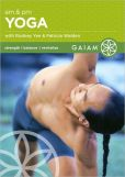 Video/DVD. Title: AM and PM Yoga for Beginners