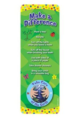 CREATIVE TEACHING PRESS CTP0947 TAKE CARE OF THE EARTH BOOKMARKS