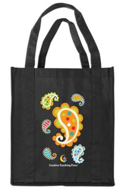 Creative Teaching Press CTP2057 Paisley Reusable Grocery Bag