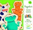 Product Image. Title: Crazy Animals 24 Piece Puzzle