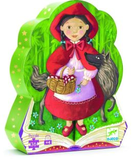 Djeco Little Red Riding Hood Puzzle 36pcs