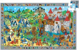 Djeco Knights Observation 54 Piece Puzzle