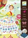 Product Image. Title: Djeco Flower Maidens Stamps Set