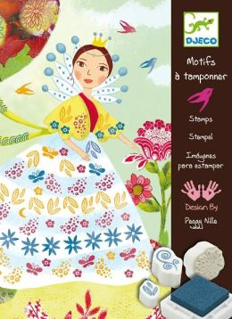 Djeco Flower Maidens Stamps Set