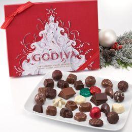 Godiva 36 Piece Holiday Chocolate and Truffle Gift Box
