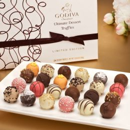 Godiva 24 Piece Ultimate Dessert Truffles Box