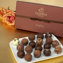 Godiva 18 Piece Truffle Assortment