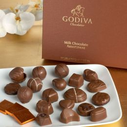 Godiva 22 Piece Milk Chocolate Assortment